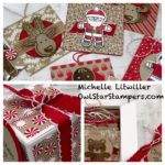 Christmas Box filled with Cookie Cutter Christmas Tags
