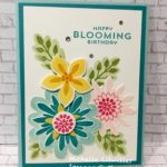 Spring Flower Patch Swap Card