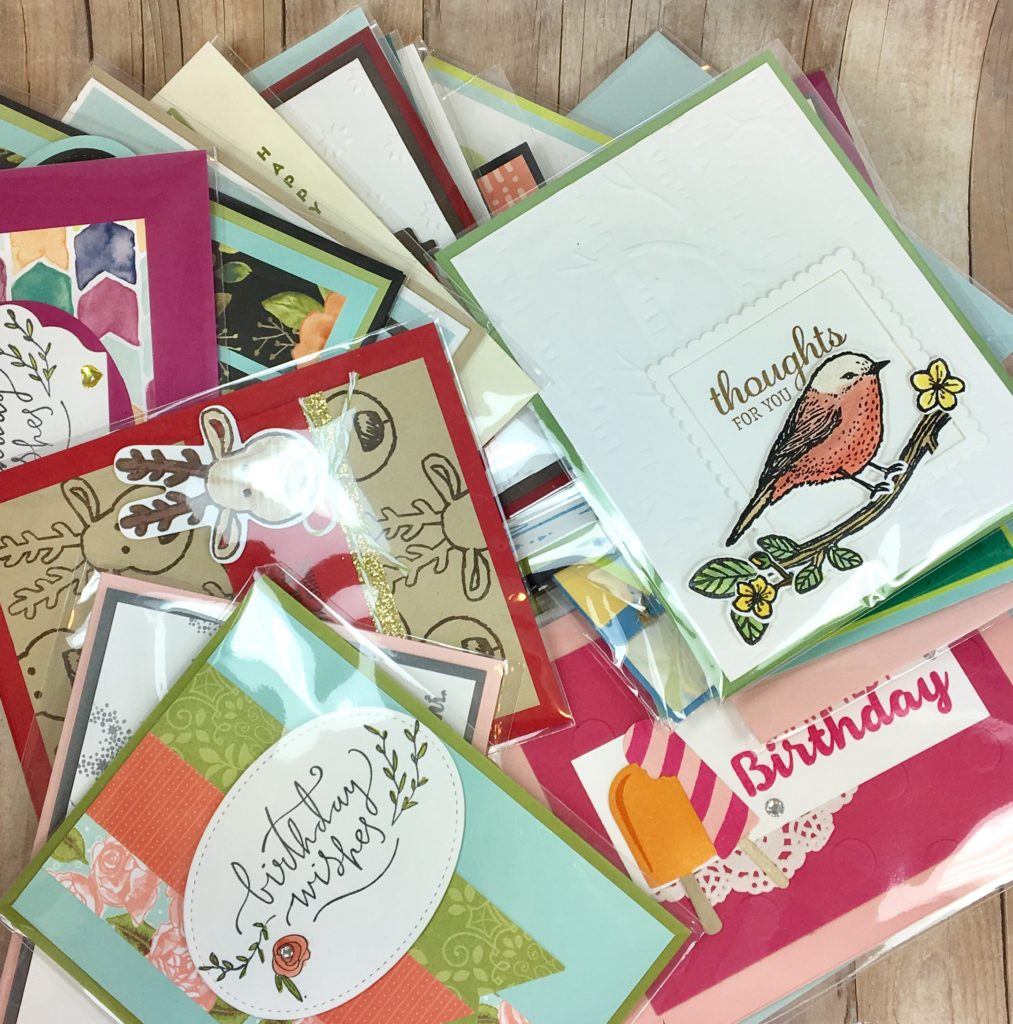 What Is A Stampin Up Card Swap