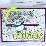 DIY Stampin' Up! Party Panda Slider Birthday Card [Facebook Live]