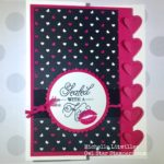 Sealed with a Kiss Stampin Up Card