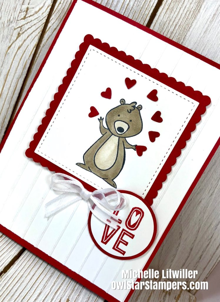 Cute Diy Handmade Valentine S Day Cards Using Stampin Up Products